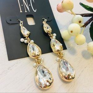 INC International Concepts Jewelry - INC Leaf Crystal Drop Earrings